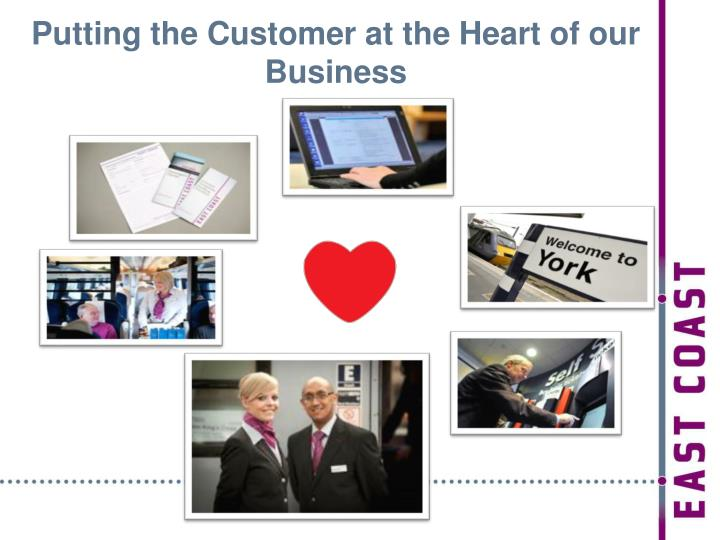 Putting the Customer at the Heart of our Business
