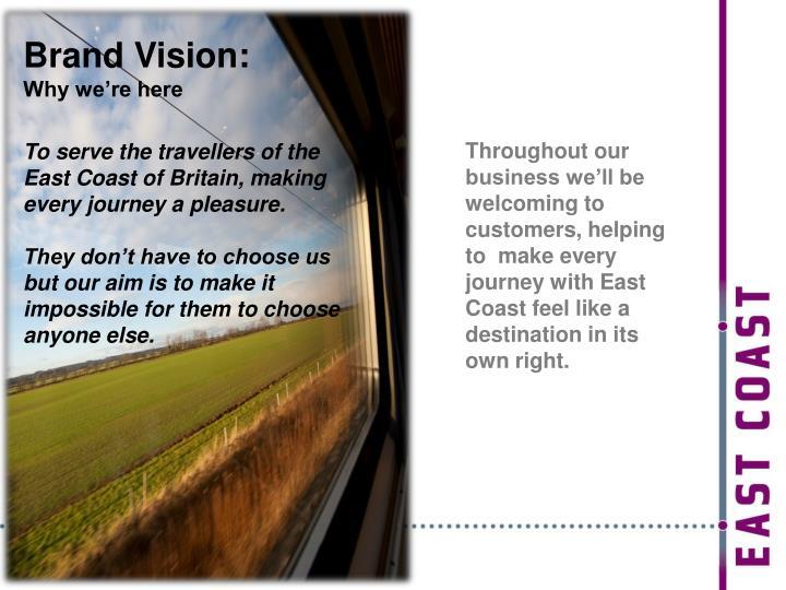 Brand Vision:
