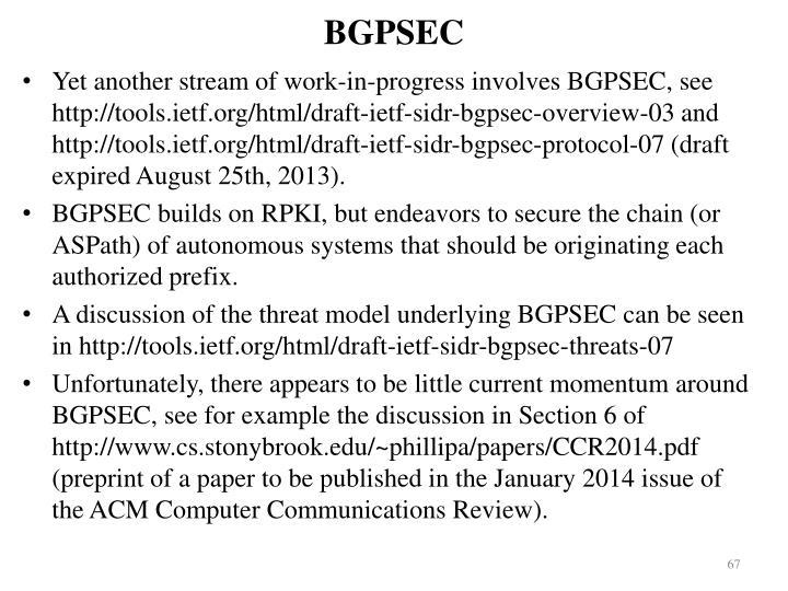 BGPSEC