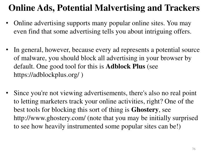 Online Ads, Potential