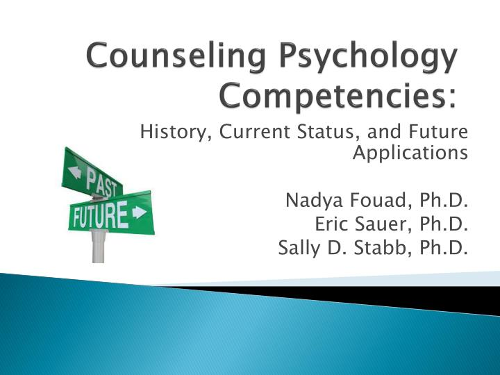 Counseling psychology competencies