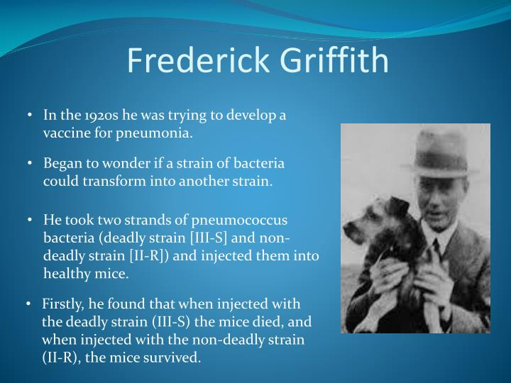 Frederick griffith