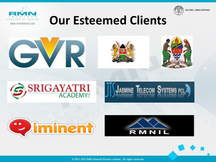 Our Esteemed Clients