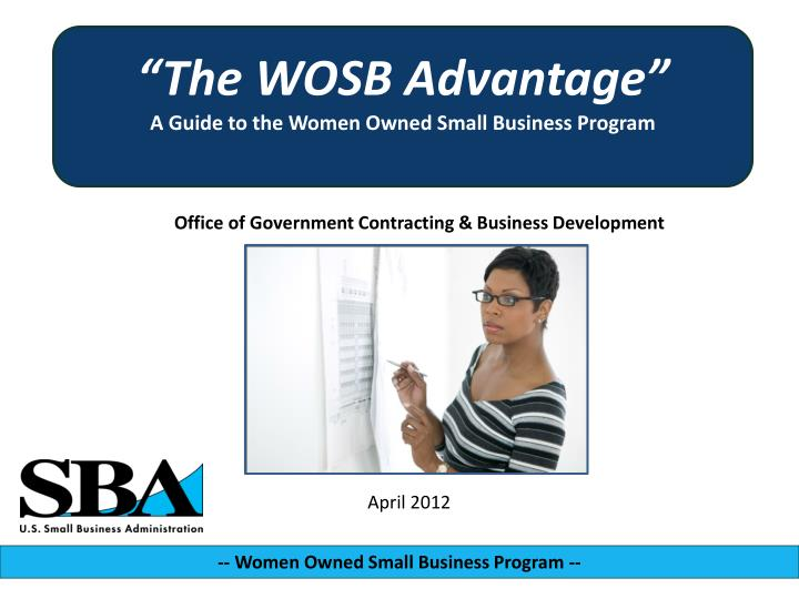 Office of government contracting business development