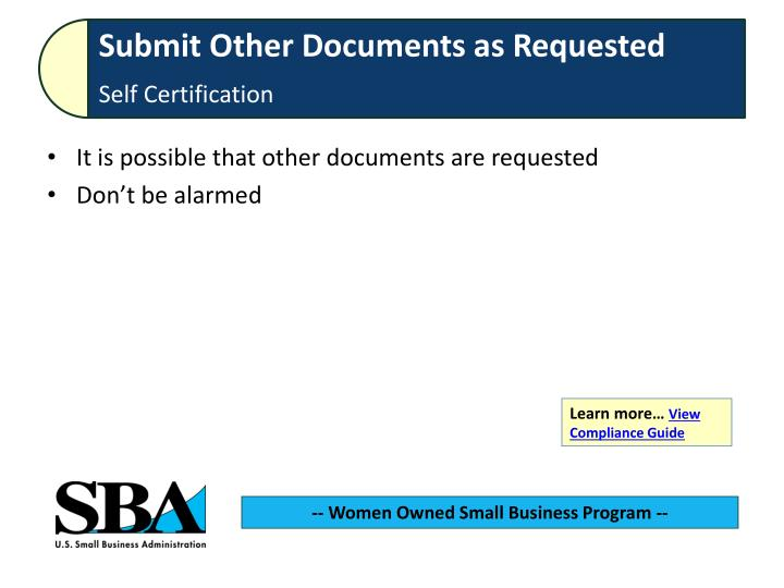 It is possible that other documents are requested