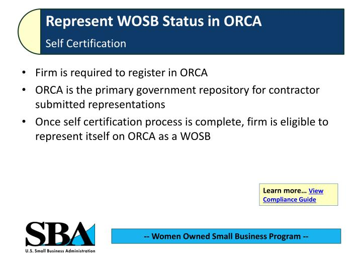 Firm is required to register in ORCA