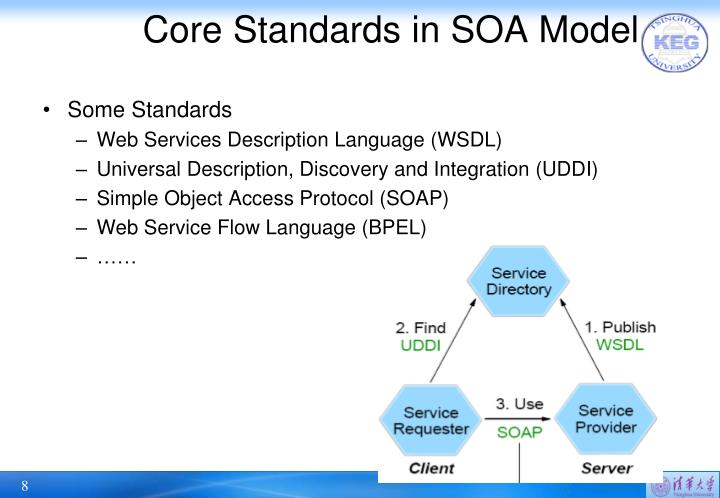 Core Standards in SOA Model