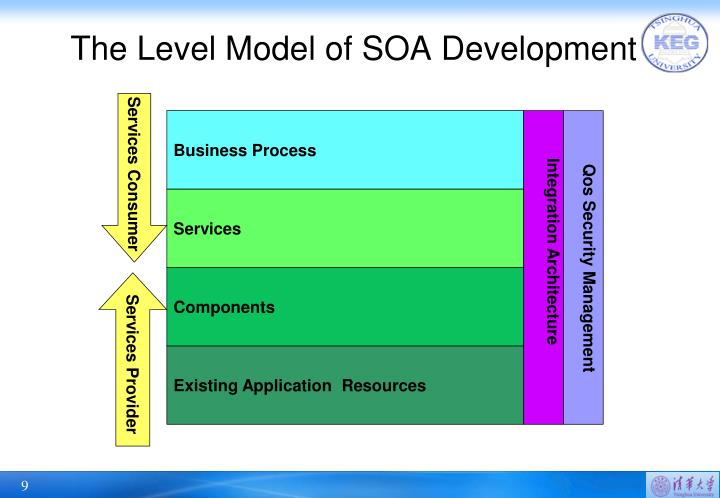 The Level Model of SOA Development