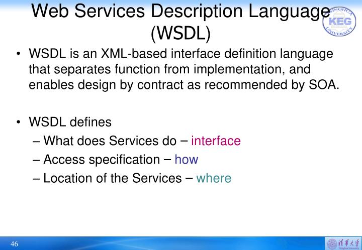 Web Services Description Language (
