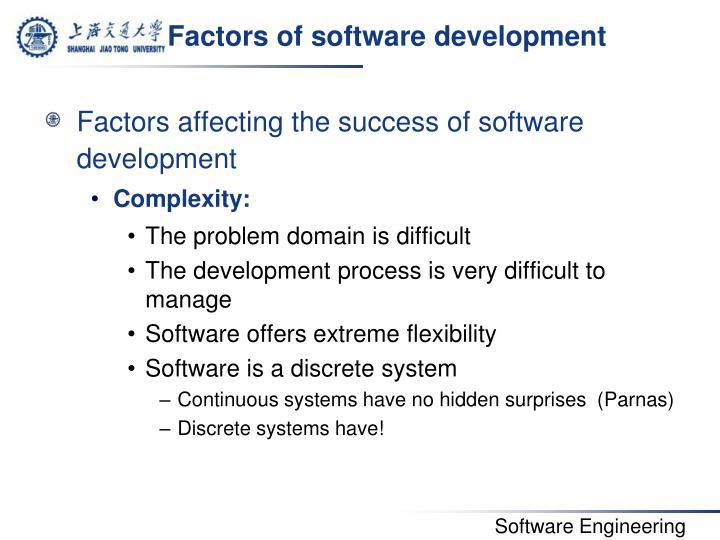 Factors of