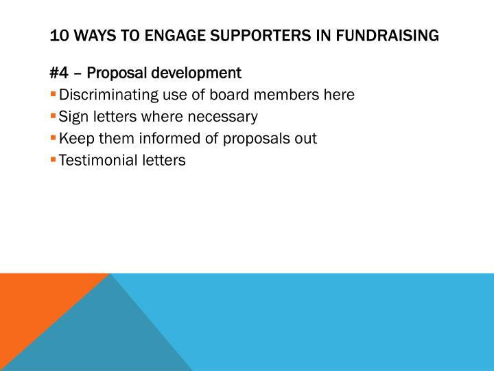 10 Ways to Engage supporters in Fundraising