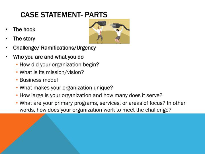 Case statement- Parts
