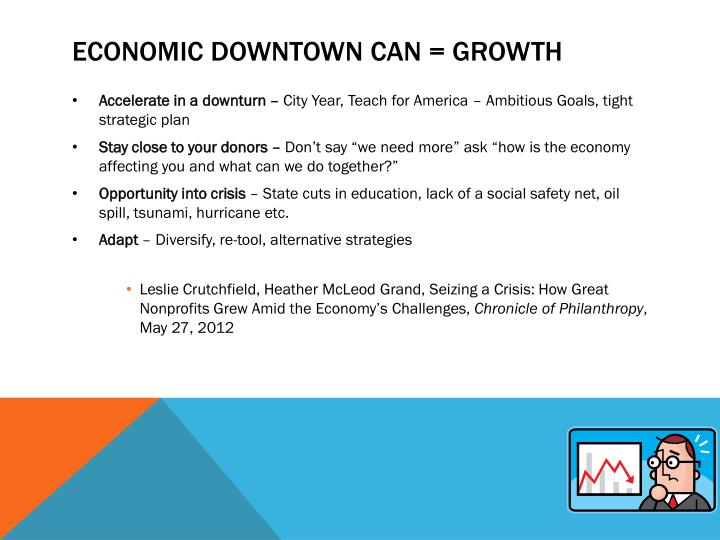 Economic Downtown Can = Growth