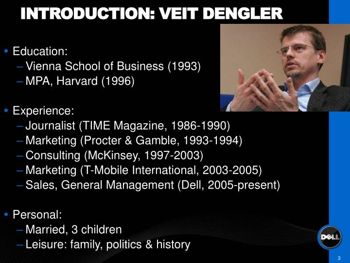 Introduction veit dengler