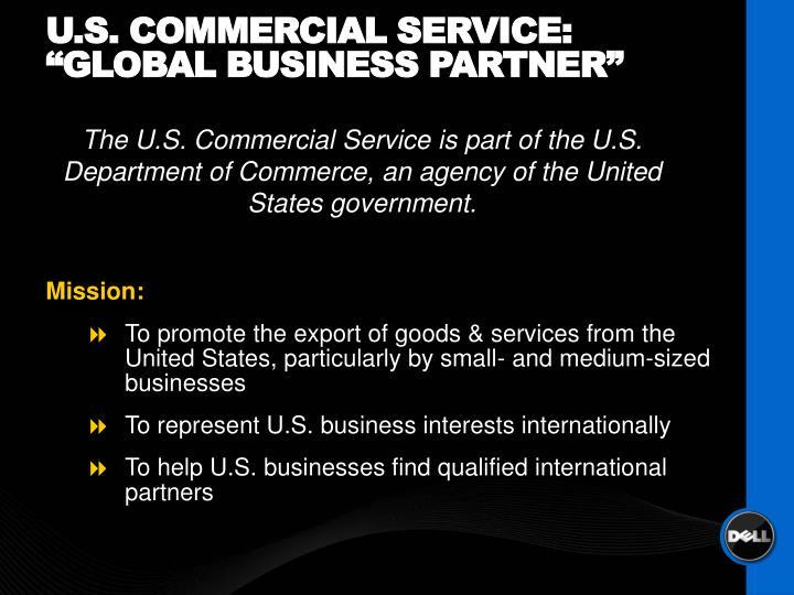 U.S. Commercial Service: