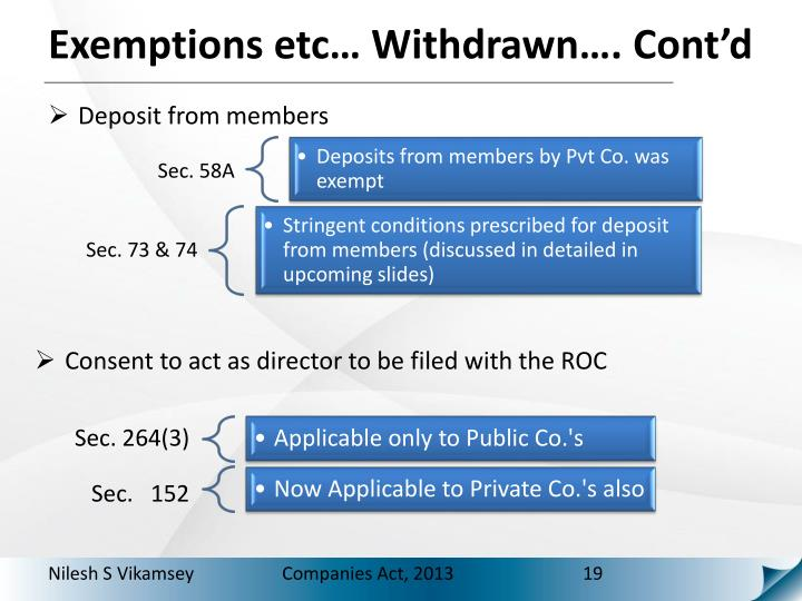 Consent to act as director to be filed with the ROC