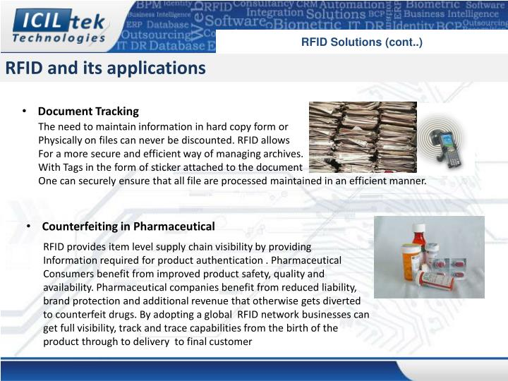 RFID Solutions (cont