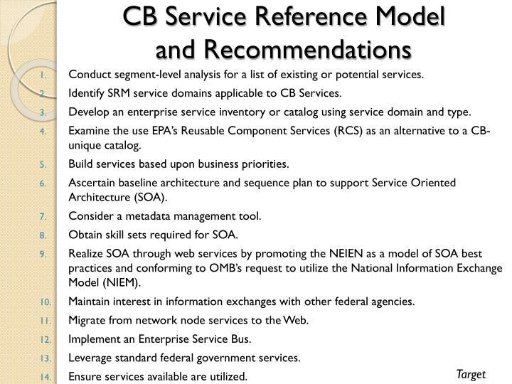 CB Service Reference Model