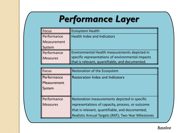 Performance Layer