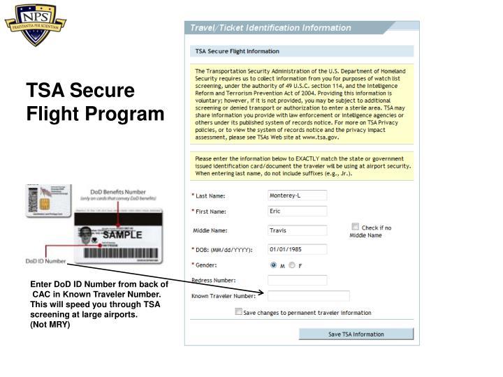 TSA Secure