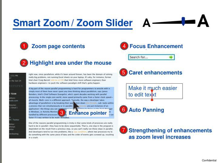 Smart Zoom
