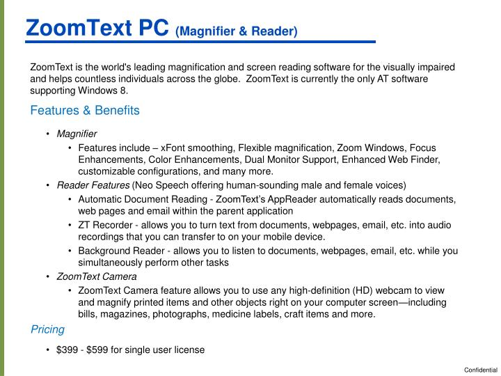 ZoomText PC