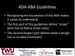 ada aba guidelines1