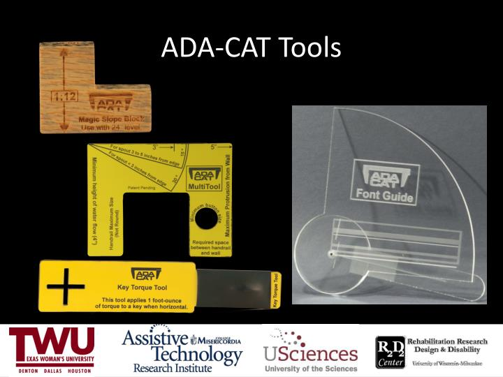 ADA-CAT Tools