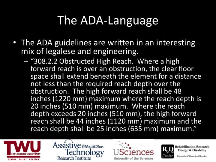 The ADA-Language