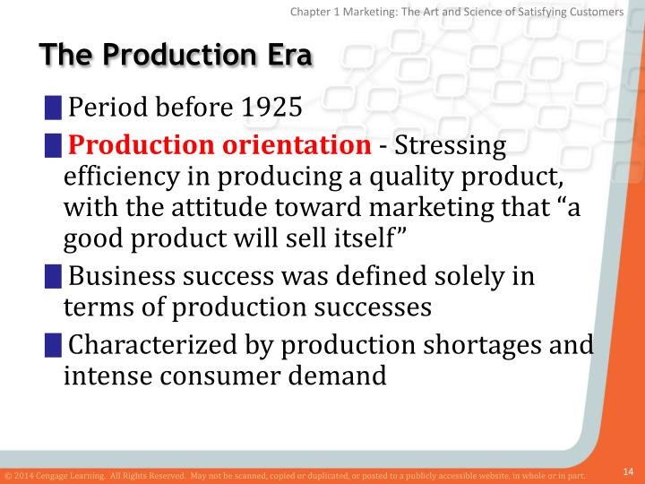 The Production Era