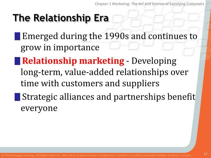 The Relationship Era