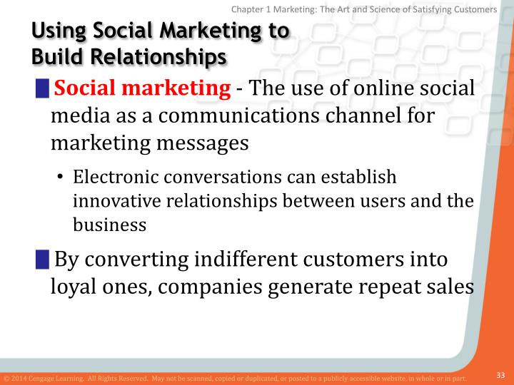 Using Social Marketing to