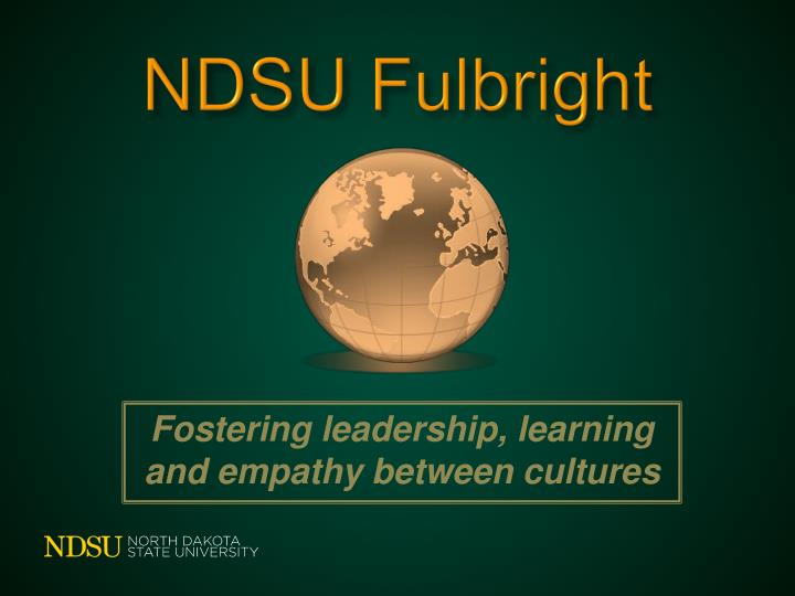 NDSU Fulbright