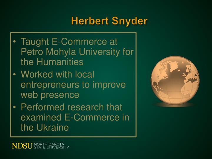 Herbert Snyder