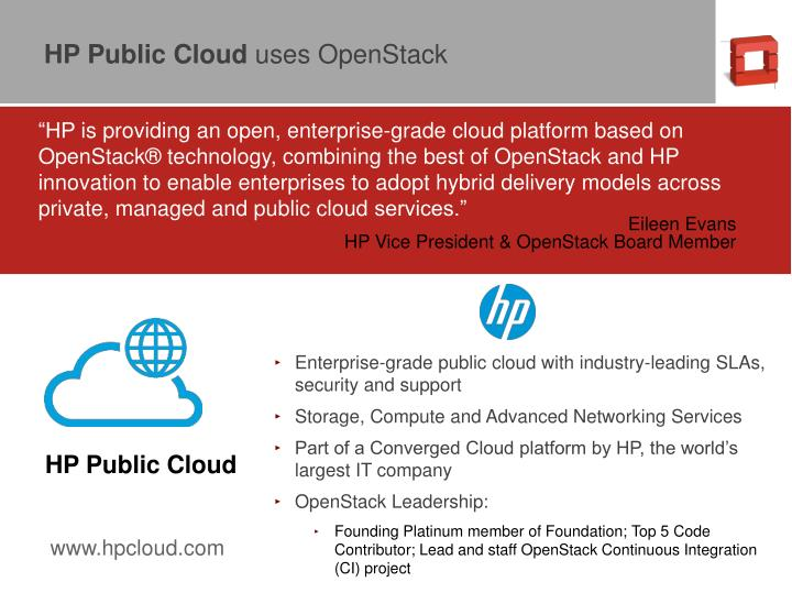 HP Public Cloud