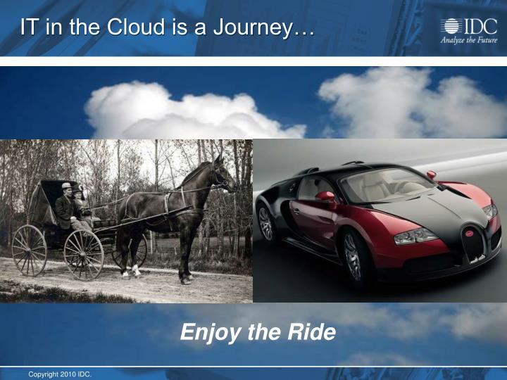 IT in the Cloud is a