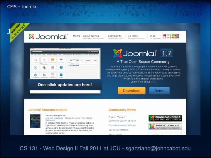 CMS - Joomla