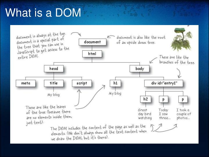 What is a DOM