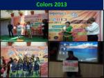colors 2013