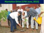 plantation drive 17th june 2013