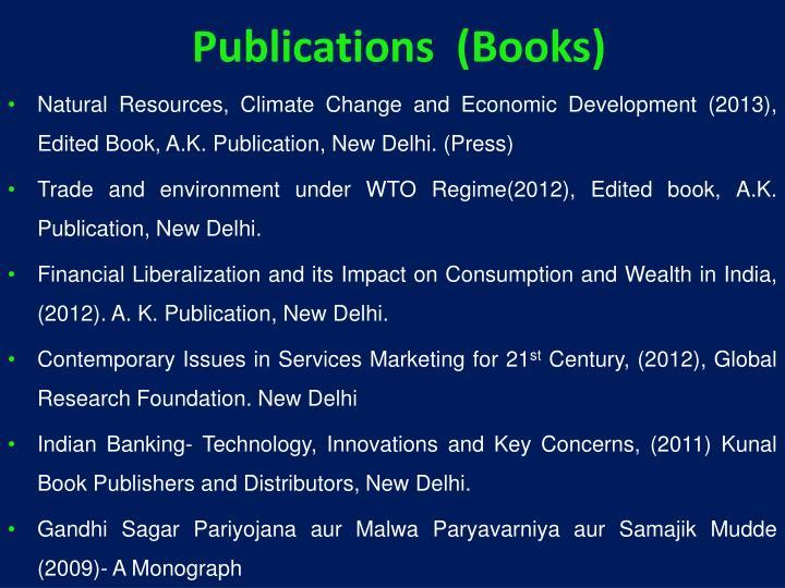 Publications  (Books)