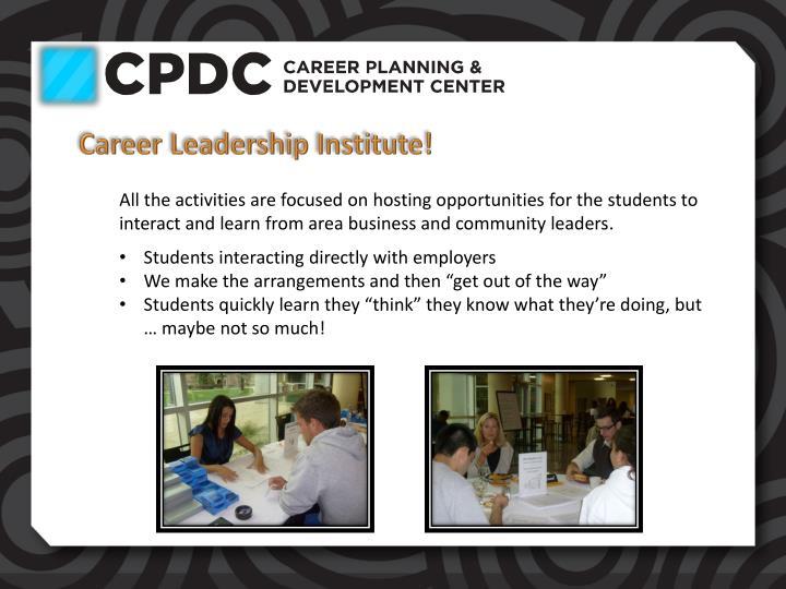 Career Leadership Institute!