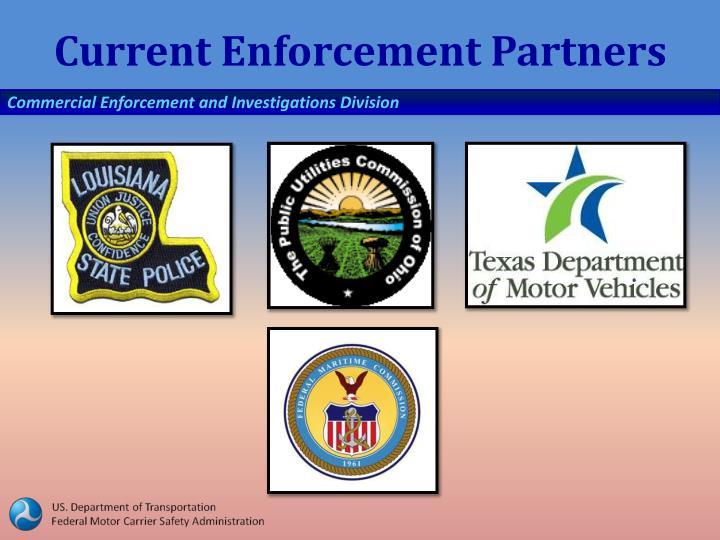 Current Enforcement Partners