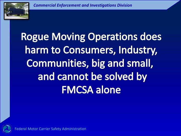 Rogue Moving Operations does