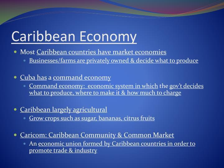 Caribbean Economy