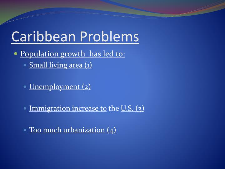 Caribbean Problems