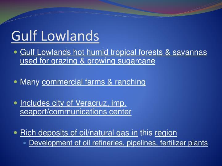 Gulf Lowlands
