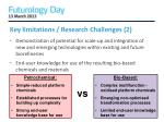 key limitations research challenges 2