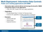 multi deployment informatica data controls power your existing applications with mdm