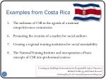 examples from costa rica1